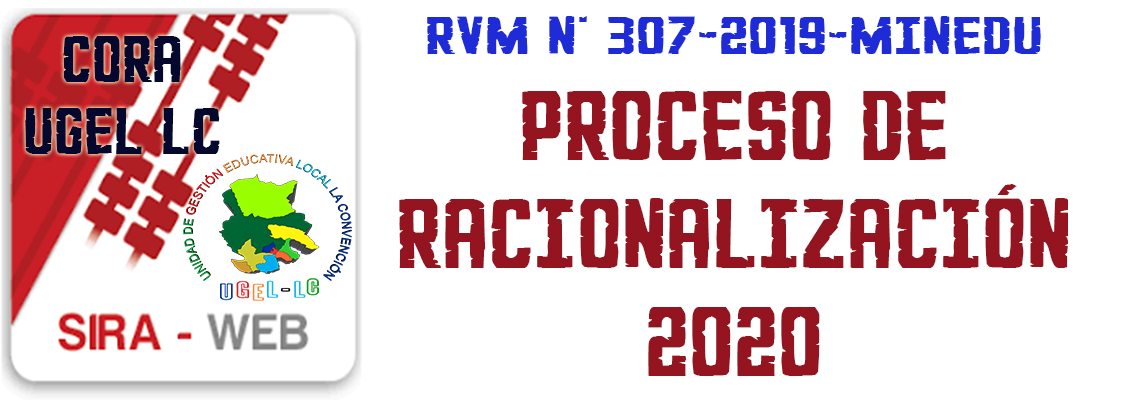 PROCESO DE RACIONALIZACIÓN