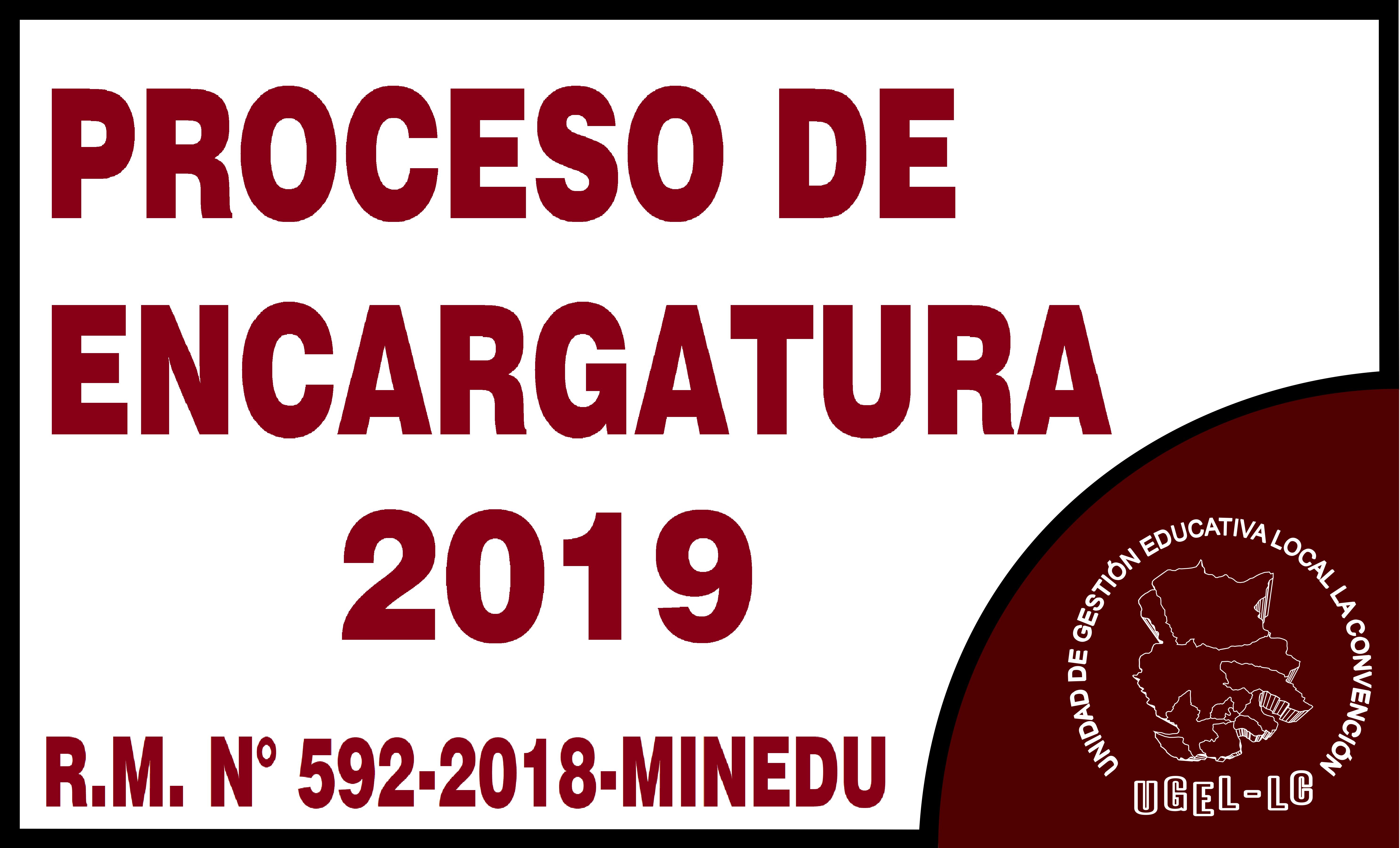 Encargos 2019